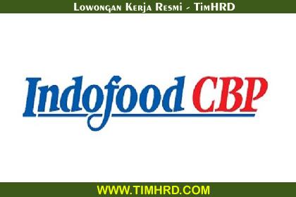 Lowongan Kerja Resmi PT. Indofood CBP Divisi Beverage