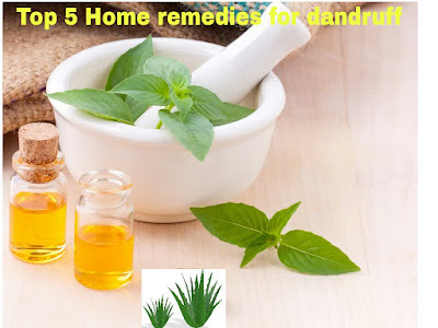 How to get rid of dandruff naturally at home