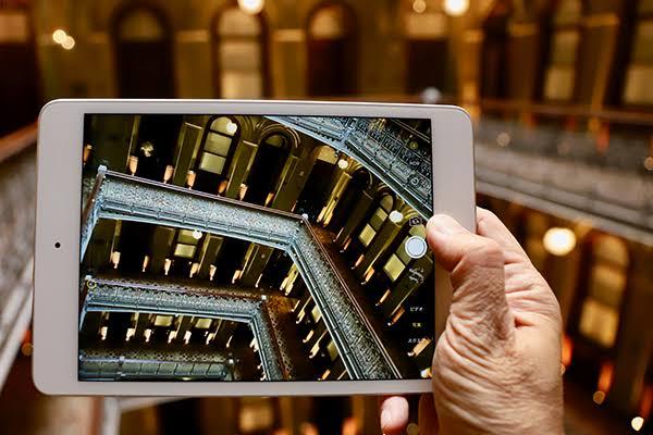 ambil gambar pakai tablet/ipad
