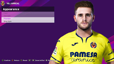 PES 2020 Faces Xavier Quintilla by Rachmad ABs