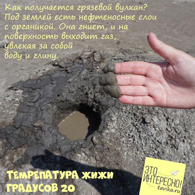 Грязевые вулканы Крыма - происхождение