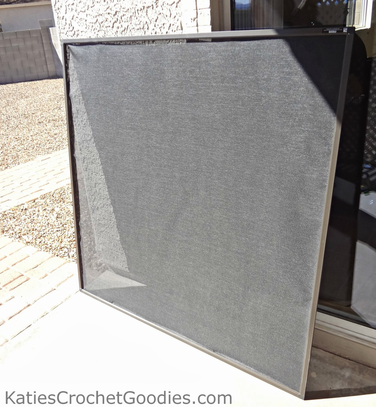 how to make window screens