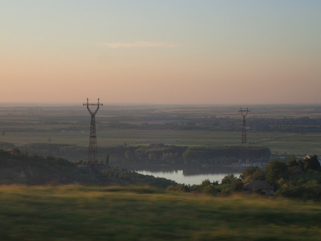 Pogranicze Rumunii i Bułgarii (Dunaj)