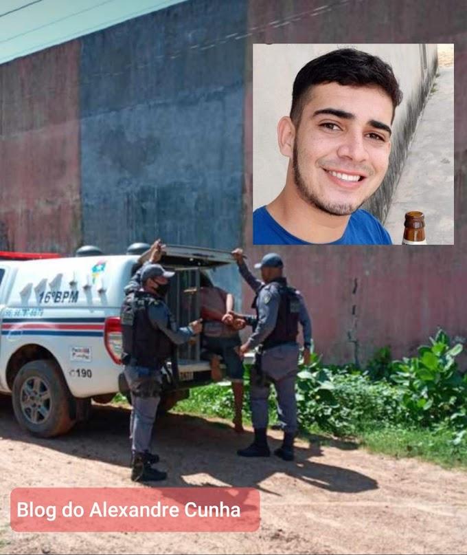 Urgente! Polícia Prende suspeito de ter matado o jovem Werdeson de Santa Quitéria MA