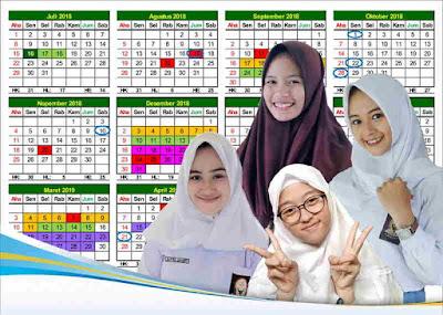 Kaldik 2018/2019 Jateng Versi Excel