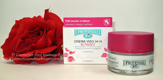 I Provenzali - Crema viso 24h biologica nutriente