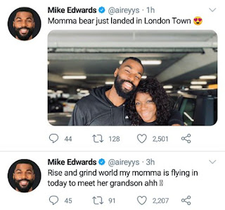 Mike Edwards And Mother