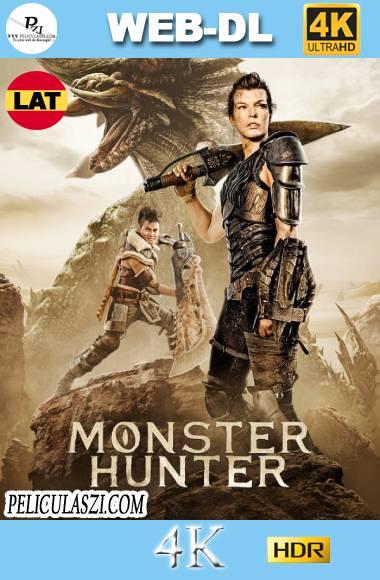 Monster Hunter: La Cacería Comienza (2020) Ultra HD  WEB-DL 4K HDR Dual-Latino VIP