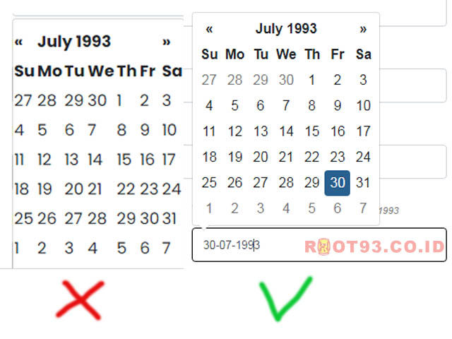 Bootstrap Datepicker css is not working well