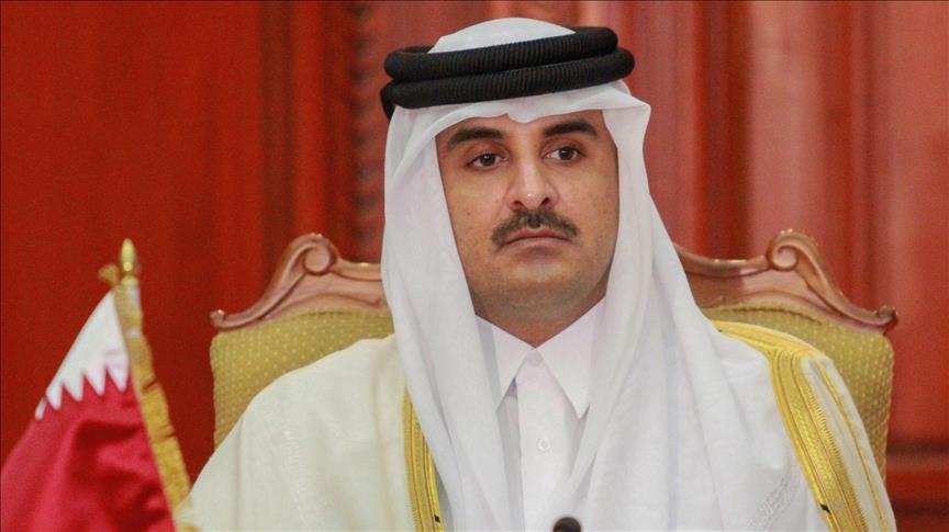 اخبار قطر..تميم يعالج شعبه باستخدام دهن الحمار بعد شرب ألبان الحمير التركية