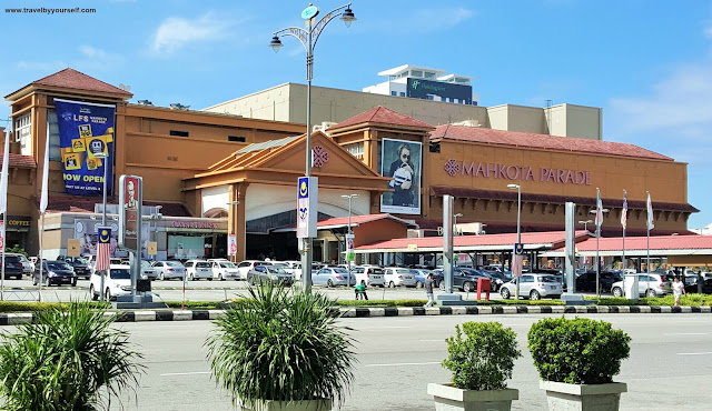 Mahkota Parade Mall in Malacca