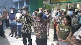 Petugas Kesehatan Meningal di Sebabkan Covid, Bupati & Wabup Ikut Memberikan Penghormatan Jenazah