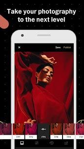 برنامج تطبيق VSCO Cam Full v157 لتحرير وتعديل الصور النسخة المدفوعة للأندرويد