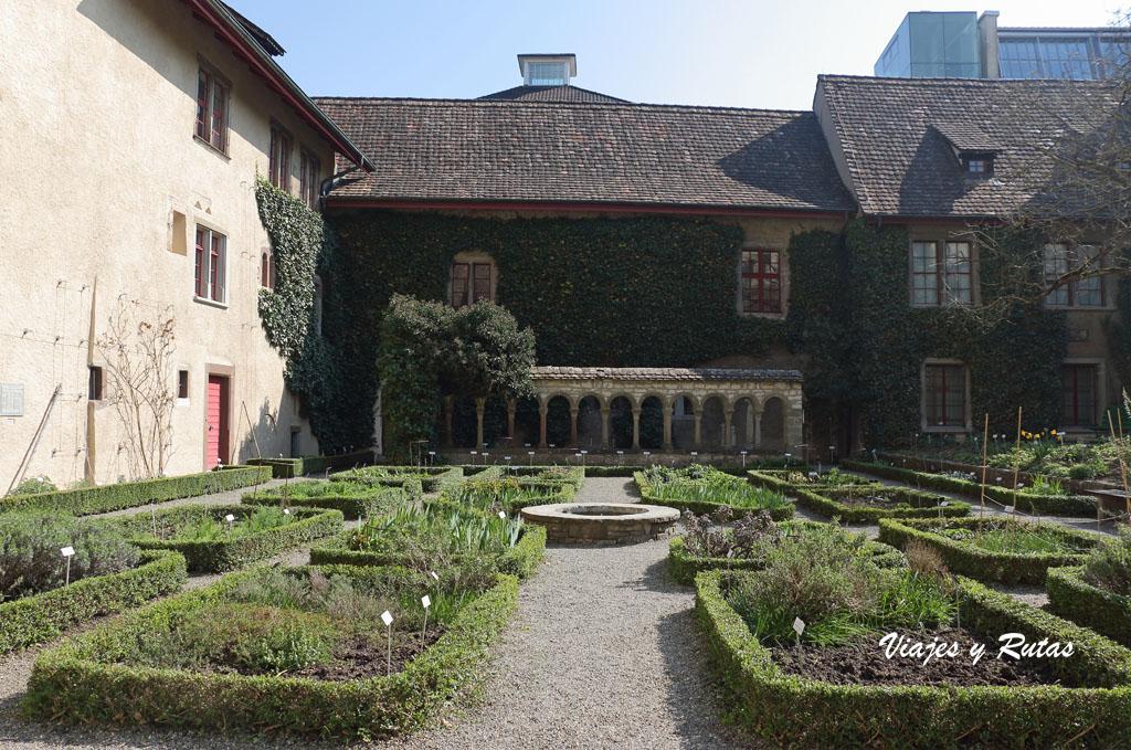 jardín del Monasterio de Allerheiligen de Schauffhausen