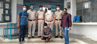 स्थाई वारंटी को पकडने मे बुरहानपुर पुलिस की एक और बडी सफलता
