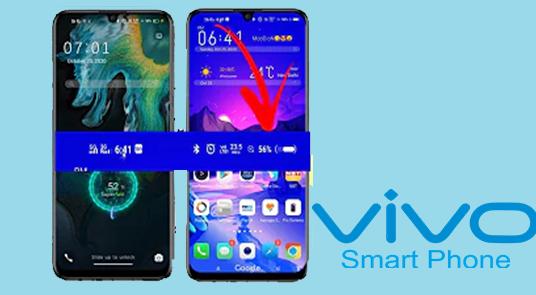 Tema Vivo itz Dengan Signal 5G dan Charging Animation