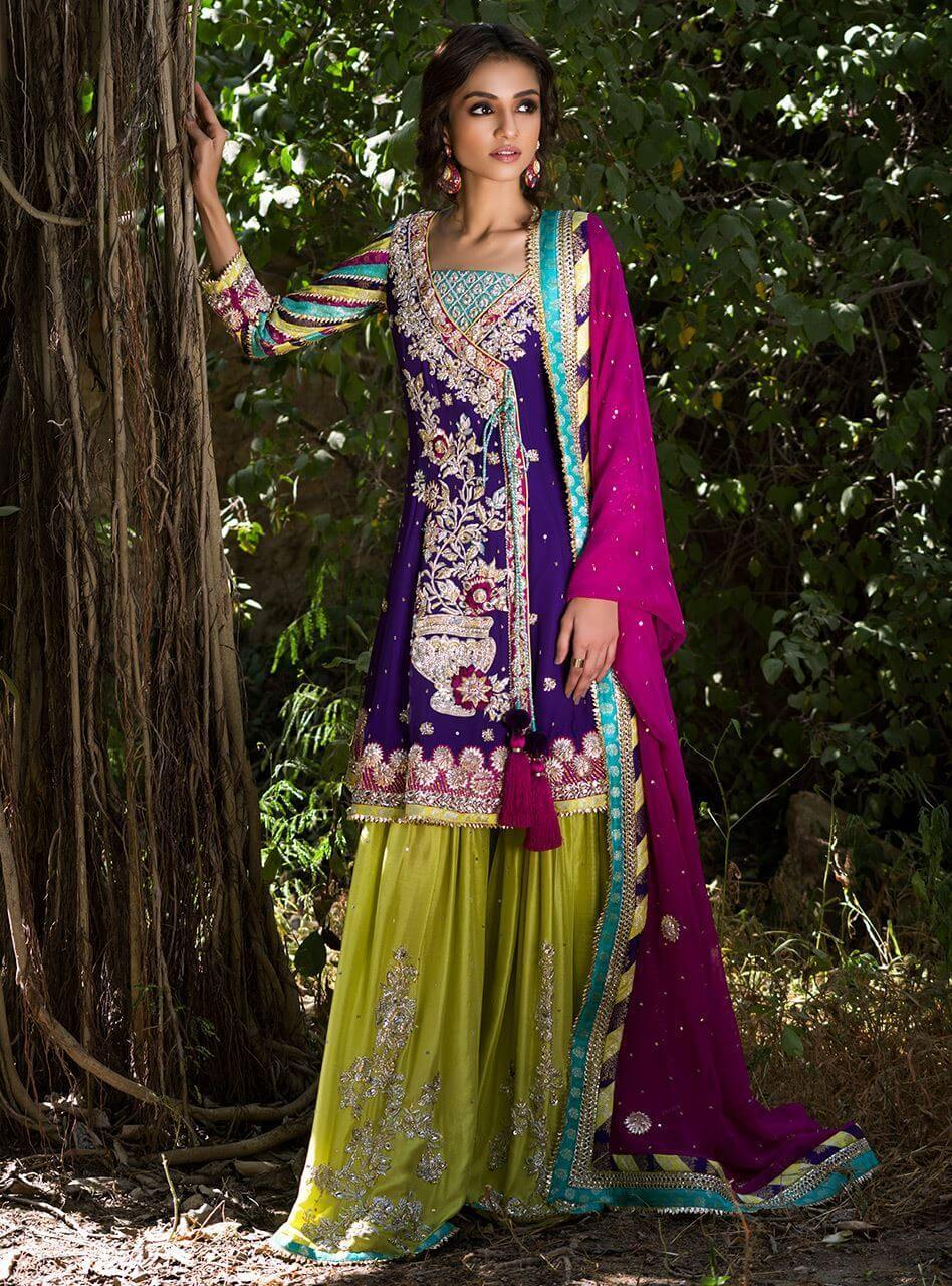 Zainab Chottani Bridals Collection Features Violet