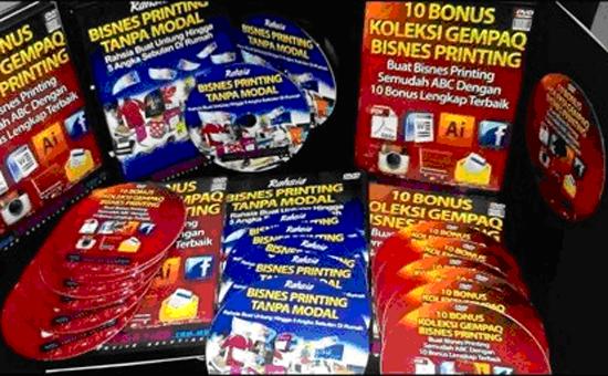 DVD Rahsia Bisnes Printing Tanpa Modal