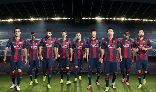 Đội bóng Barca liên tục gặp phải những điều không may