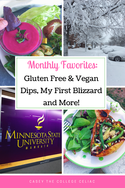 Gluten Free Monthly Favorites: All the Gluten Free Dips, My First Blizzard and More!