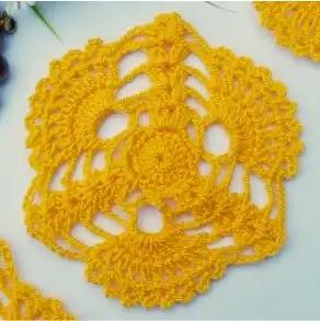 Granny Flor de Cañaguate a Crochet
