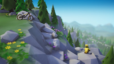 Lonely Mountains Downhill Game Screenshot 3