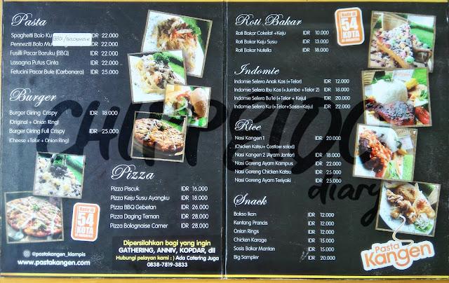 pasta kangen klampis_pasta_kangen_klampis_menu_harga_kritik_critics_food_blogger_food blogger_reviewer_review_foodie_kuliner surabaya_klampis_cafe klampis_surabaya