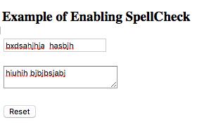 pemeriksaan ejaan menggunakan spellcheck pada laman html