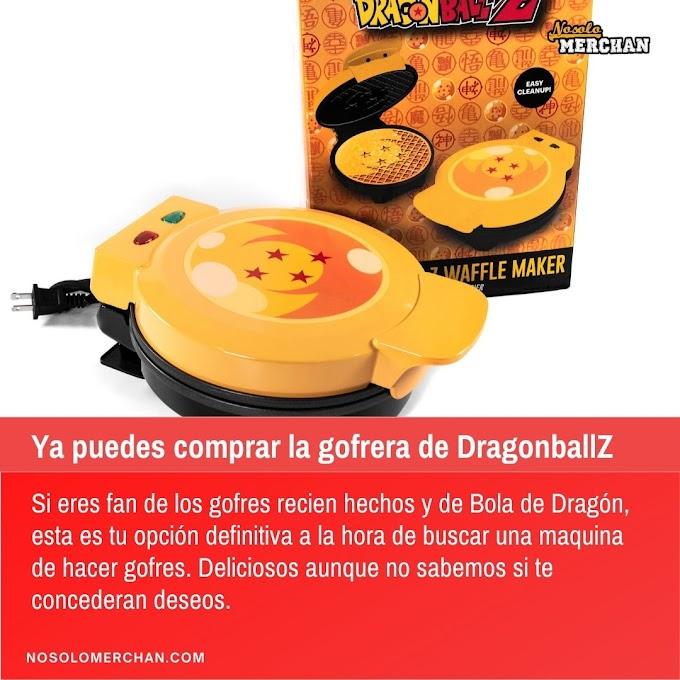 Sale a la venta una gofrera de Bola de Drago Z