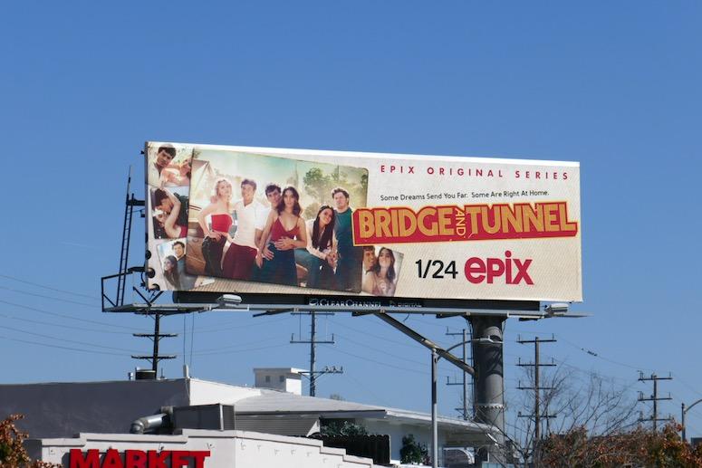 Bridge and Tunnel series premiere billboard
