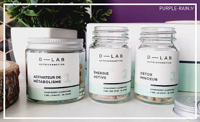 Blog Purplerain - D-LAB Nutricosmetics Brule-Graisses - Minceur