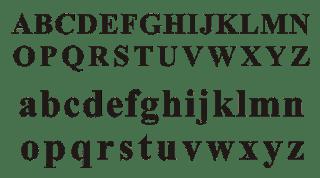 Huruf abjad A-Z