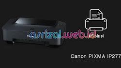 Cara Mengatasi Tinta Hitam Tidak Keluar Pada Printer Canon IP2770