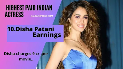 Disha Patani earnings per months