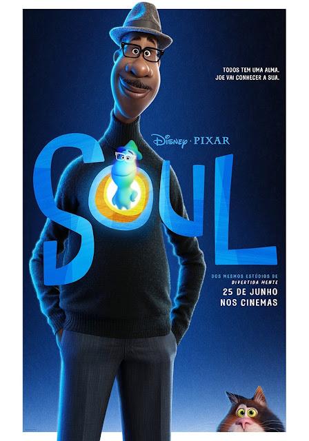 Pôster de Soul, da Disney•Pixar