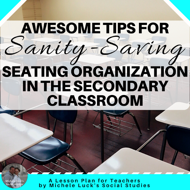 Classroom organization is one of the first things that come to mind at back to school time. Desk or seating chart arrangement, along with ideas and planning for behavior management were priorities. A good seating chart template can be the saving grace for the middle or high school classroom.