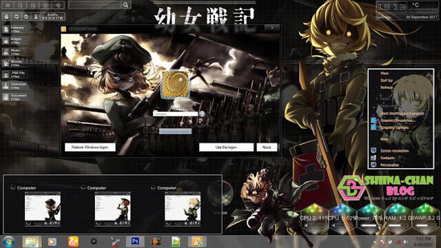 Youjo Senki Theme Win 7 by Enji Riz Lazuardi