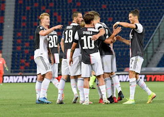 Juventus maintains push for Scudetto after 2-0 win over Bologna