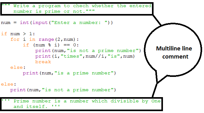 different ways of making multiple line comment in python