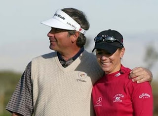 Fred Couples With His Second Wife Thais Baker