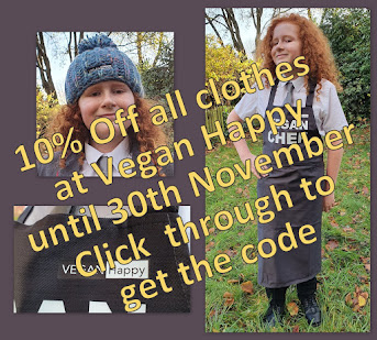 10% Discount Code Vegan Happy Clothing Ltd UK