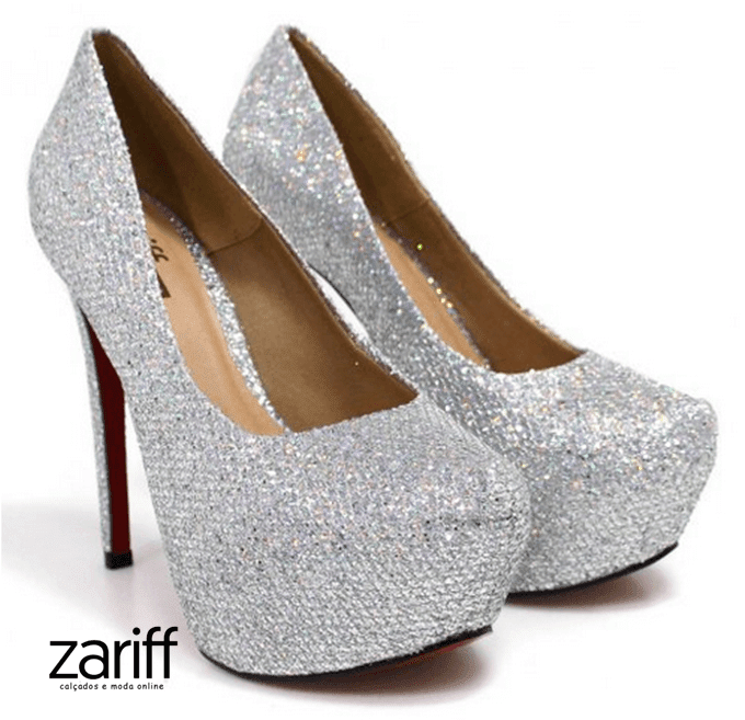 Sapato Pump Zariff Shoes Salto Fino