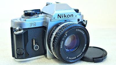Nikon FG (Chrome) Body #697, Nikon Series E 50mm f/1.8 #093