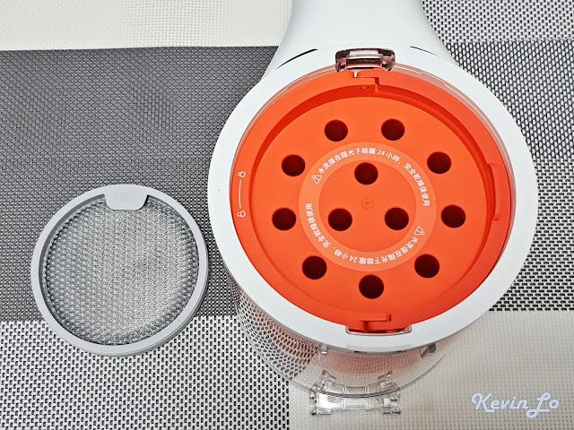 【MI 小米】米家無線吸塵器 G9 (白色) 開箱_旋風系統元件