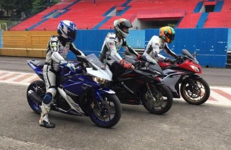 Indonesian Automotive World: The fight power CBR250RR Fi vs Kawasaki ...