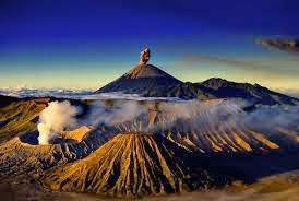 Mount Bromo at Peak Panajakan
