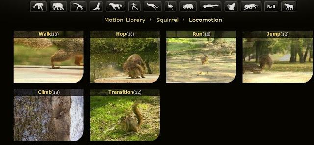 Animal Motion   Animators Resource