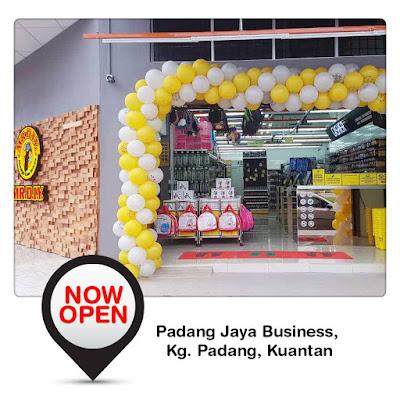 MR DIY New Outlet Opening Promo Kampung Padang Kuantan