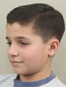 model gaya rambut pendek anak laki