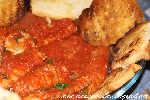 La cucina di alice cannocchie in salsa - La cucina di alice ...